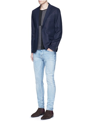 Figure View - Click To Enlarge - Scotch & Soda - 'Lot 22 The Skim' bleach wash jeans