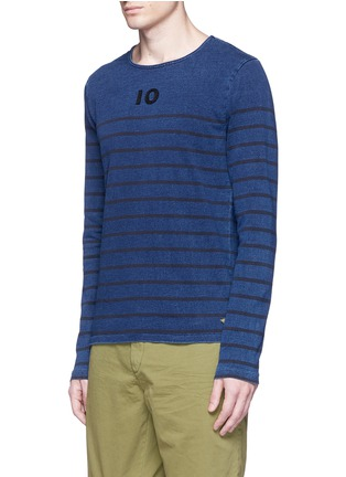 Front View - Click To Enlarge - Scotch & Soda - Stripe T-shirt