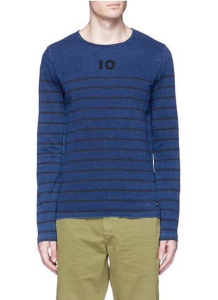 Main View - Click To Enlarge - Scotch & Soda - Stripe T-shirt