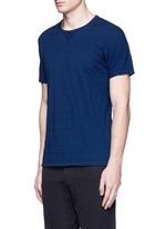 'Home Alone' stripe T-shirt