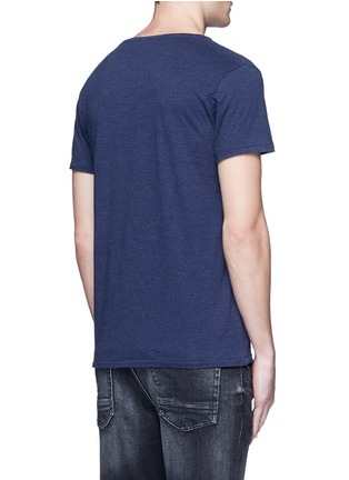 Scotch & Soda - Logo appliqué slub jersey T-shirt