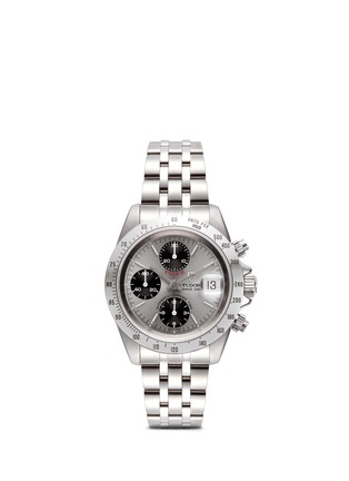 Main View - Click To Enlarge - Lane Crawford Vintage Collection - Vintage TUDOR Tiger Prince Date 79280 Chronograph watch