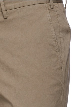 Detail View - Click To Enlarge - Canali - Regular fit stretch cotton chinos