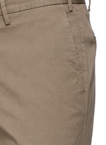 Regular fit stretch cotton chinos