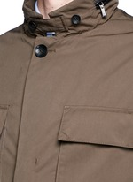 Padded water repellent jacket