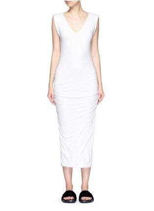 Main View - Click To Enlarge - James Perse - Twisted sleeve tube dress