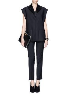 3.1 PHILLIP LIMSleeveless tuxedo barathea vest