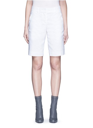 Main View - Click To Enlarge - Dkny - Stretch linen tailored bermuda shorts