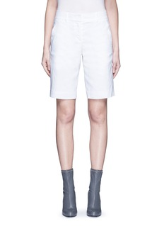 Dkny Stretch linen tailored bermuda shorts