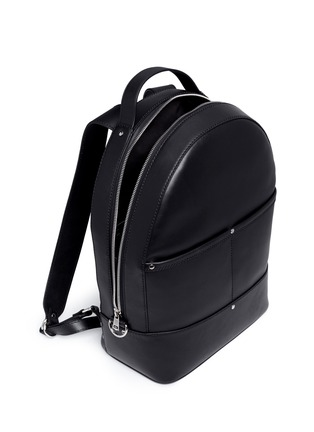 Detail View - Click To Enlarge - Alexander Wang  - 'Mason' leather backpack