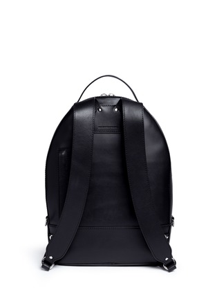 Back View - Click To Enlarge - Alexander Wang  - 'Mason' leather backpack