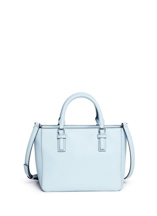 Back View - Click To Enlarge - Tory Burch - 'Robinson' mini leather tote