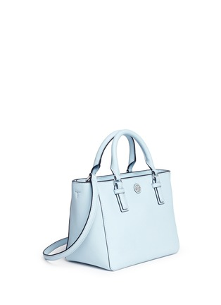 Front View - Click To Enlarge - Tory Burch - 'Robinson' mini leather tote
