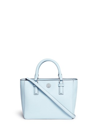 Main View - Click To Enlarge - Tory Burch - 'Robinson' mini leather tote