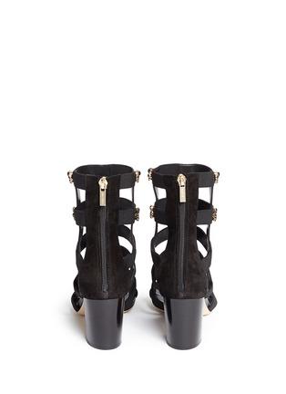 背面 - 点击放大 - JIMMY CHOO - MYRIAD仿水晶装饰罗马高跟凉鞋