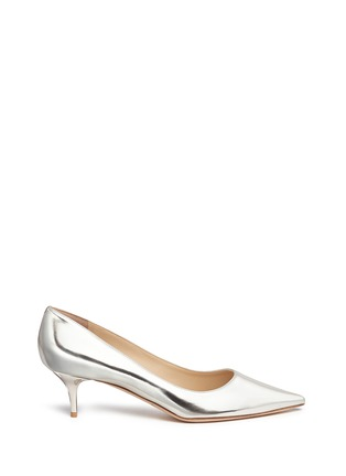 Main View - Click To Enlarge - Jimmy Choo - 'Aza' mirror leather pumps
