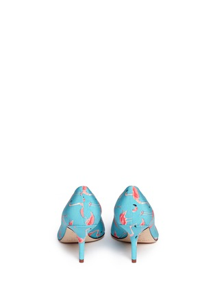 Back View - Click To Enlarge - Kate Spade - 'Jessa' flamingo print pumps