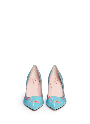 Figure View - Click To Enlarge - Kate Spade - 'Jessa' flamingo print pumps