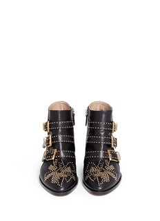 CHLOÉ 'Susanna' stud nappa leather boots