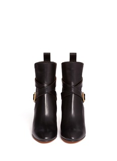 CHLOÉElastic back leather boots