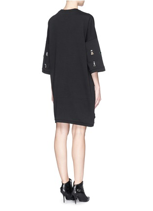 Back View - Click To Enlarge - Lanvin - Jewel sweatshirt dress