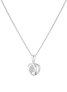 Lazare Kaplan 'Paramour' 18k white gold diamond pendant necklace