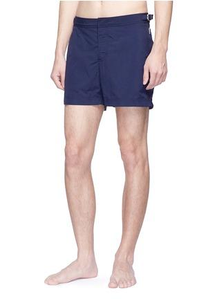 正面 -点击放大 - ORLEBAR BROWN - 纯色游泳短裤