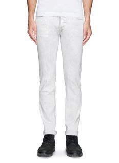HELMUT LANGPlastisol print slim fit jeans