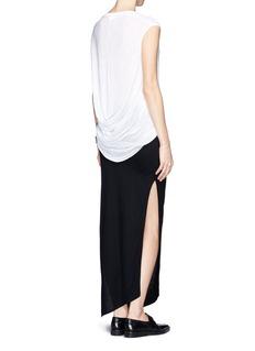 HELMUT LANGBack drape T-shirt