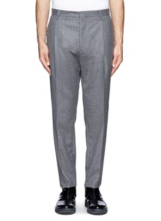 LANVIN Tapered flannel pants