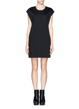 Main View - Click To Enlarge - Helmut Lang - Cotton T-shirt dress