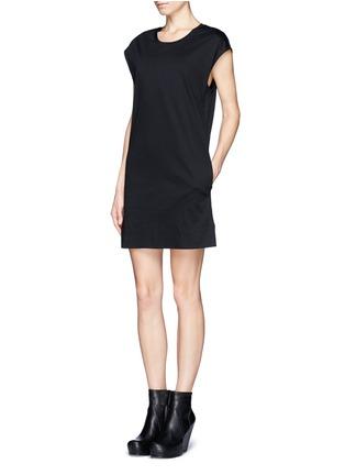 Figure View - Click To Enlarge - Helmut Lang - Cotton T-shirt dress