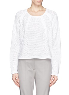 HELMUT LANG 'Plov' cord knit sweater