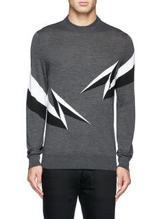 NEIL BARRETTLightning sweater
