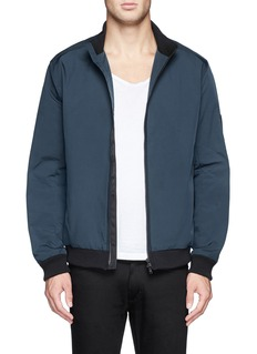 THEORY'Rifle' nylon canvas bomber jacket