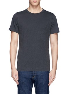 THEORY'Gaskell' slub cotton jersey T-shirt