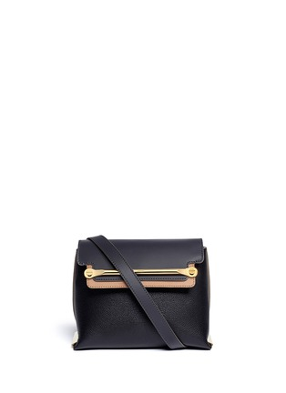 Main View - Click To Enlarge - Chloé - 'Clare' small leather shoulder bag