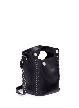 Detail View - Click To Enlarge - 3.1 Phillip Lim - 'Dolly' small stud leather bucket bag