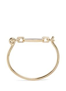 Eddie Borgo 'Token Tension' 12k gold plated cuff