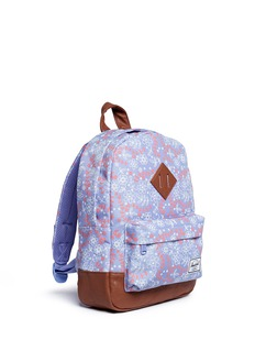 The Herschel Supply Co. Brand 'Heritage' meadow print canvas 9L kids backpack
