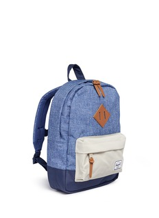 The Herschel Supply Co. Brand 'Heritage' colourblock canvas 9L kids backpack