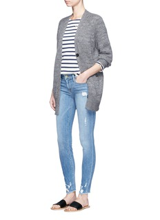 Frame Denim 'Le Skinny de Jeanne' mid rise ripped jeans