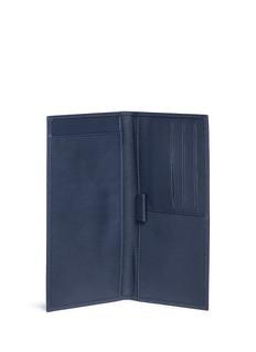 Bynd ArtisanBifold leather chequebook holder wallet