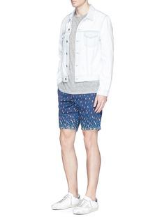 Scotch & SodaPaisley print cotton twill shorts