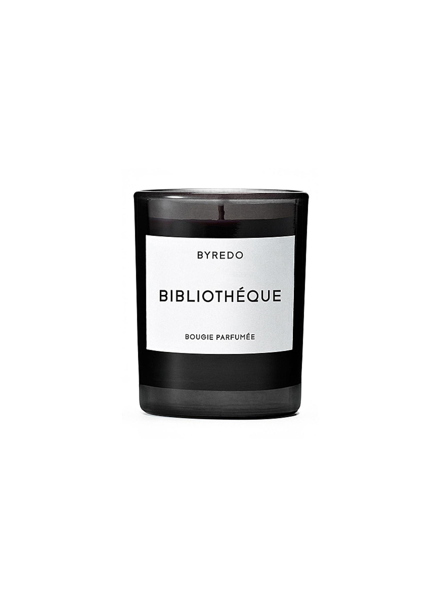 Bibliothéque mini fragranced candle 70g by BYREDO