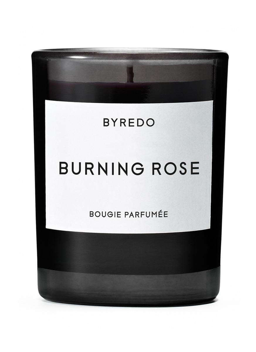 Burning Rose mini fragranced candle 70g by BYREDO