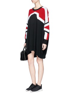 Neil Barrett 'Minimal Cowboy' knit dress