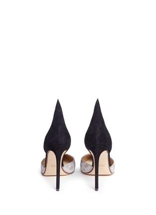 背面 - 点击放大 - FRANCESCO RUSSO - 拼色拼皮高跟鞋