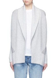 Vince Wool-cashmere circle cardigan
