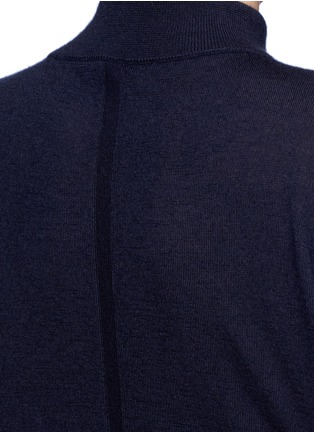 Detail View - Click To Enlarge - The Row - 'Alen' cashmere-silk turtleneck sweater